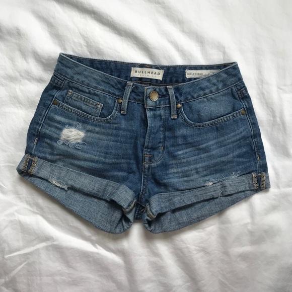 Bullhead Pants - Bullhead Denim Shorts size 25